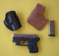 Galco Speed Paddle, Pocket Protector And Stinger Holsters