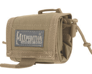 Rollypoly is Maxpedition's licensed adaptation of MM Folding Dump Pouch design.