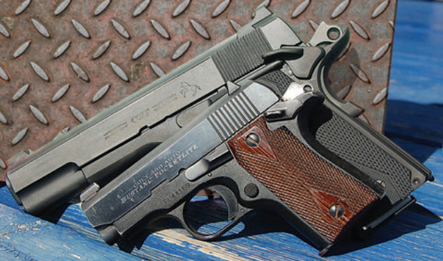 While author is a fan of all things Colt, he prefers to carry a 5-inch Government Model instead of its .380 ACP little brother.
