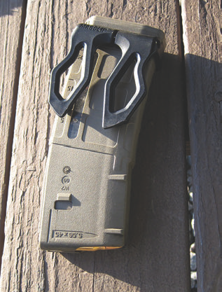Crye Precision MagClip secures around base of most common AR magazines and provides a versatile hasty carriage solution.