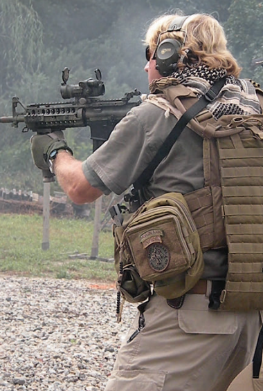 """Man Alone Tactical Lead Instructor Cable """"Mitch"""" Hogue."""