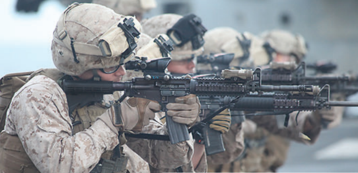 Rifle Combat Optic was a great step forward, but its 4X magnification is often alternately too much for good shooting or too little for target ID, while the short eye relief requires the shooter to crowd the optic. Photo: DoD
