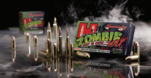 Hornady sells an entire line of high-performance ammunition called Zombie Max that's designed to deal effectively with the undead menace. Accompanying literature explains that this ammunition is intended solely for use on undead zombies. Any other application might void the warranty….