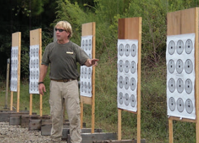 Instructor explains MAT number drill.