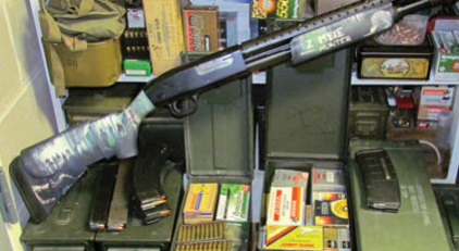 The most sinister iron in the arsenal is just dead weight without a healthy stash of zombie bullets. Now the concerned citizen can stock up on military-grade M-855 5.56mm ammunition at his neighborhood Wal-Mart. Maintaining this stash in military surplus steel ammo cans gives it a functionally unlimited shelf life.