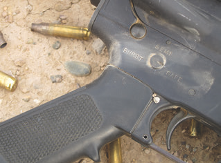 The burst trigger is an active impediment to good shooting that produces three separate trigger weights and qualities in exchange for a questionable capability.