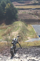 Majority of evaluation took place at Echo Valley Training Center's 300-yard plus stepped range.