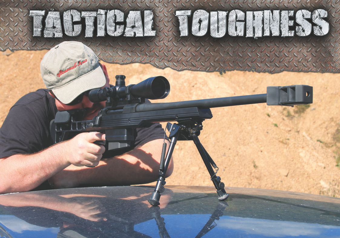AR-30A1's aesthetics instill a sense of professionalism and purpose. The purpose is long-range accuracy.