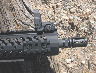 Front sight is also from Magpul.