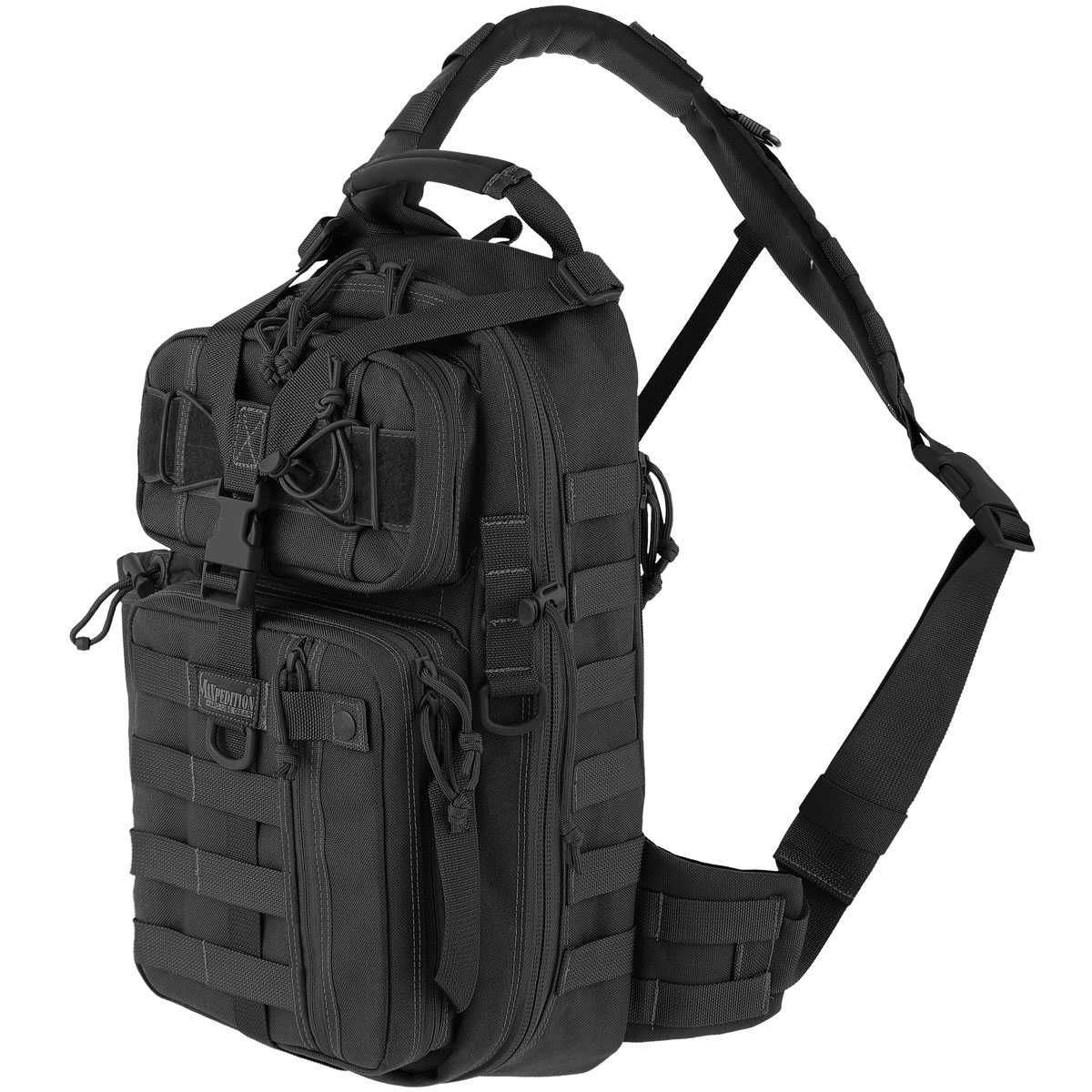 Front of Maxpedition Sitka Gearslinger pack