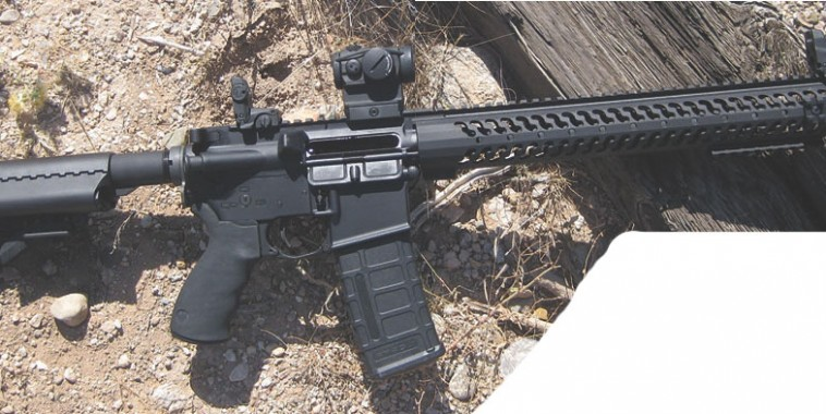 Sionics Patrol Rifle III XL proved to be flawlessly reliable and accurate.