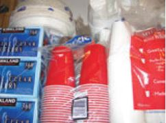 Lack of proper sanitation can kill just as surely as lack of food or water. After a disaster, disposable plates, cups and utensils rule. A large supply of toilet paper and paper towels is also a big plus. These supplies will help keep your environment sanitary and free of bacteria.
