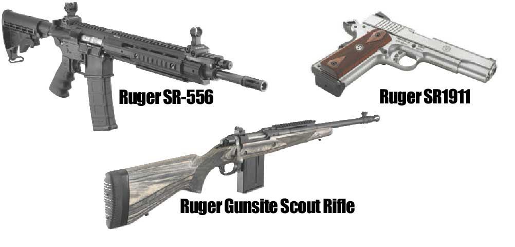 Triple Play | All-Around Rugers | GUN MAGAZINE | SWAT VAULT