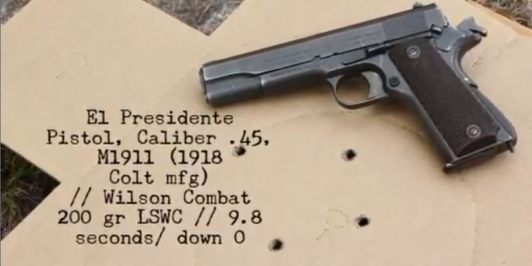 WWII Colt 1911