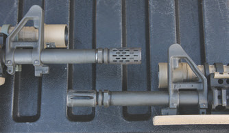 Muzzle devices have typically been a cage match between flash suppression and muzzle rise compensation. The U.S. tactical community has generally shunned compensators, but the BattleComp may represent a new era and capability.
