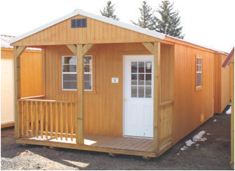 Modern sheds are ready for delivery to be completed as your personalized getaway place. These are two of many variants of sheds now available.