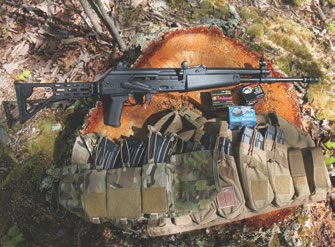 ZK-MR AK from Red Jacket Firearms is unique not only in its appearance but also in how it performs. US PALM and Mayflower Research & Consulting AK chest rigs were used during the evaluation. 7.62x39mm ammunition included Tula, Silver Bear, and Wolf Ammunition.