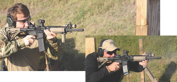 BattleComp made less comfortable positions like shooting around a barricade more effective for experienced and new shooters alike, and boosted performance in every test— dramatically so in some.