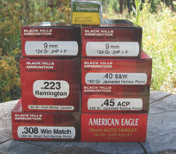 tock up on quality ammo in as few calibers as possible.