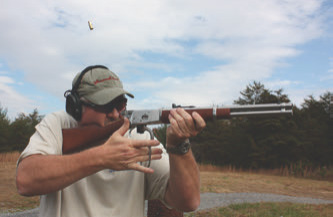 Extraction and ejection with Rossi M92 were positive and required minimal force to properly operate lever action from the shoulder. Recoil with .44 Magnum chambering was marginal and not a detriment to accurate rapid fire.