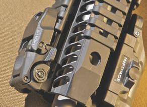 Magpul MBUS sights were used on test carbine.