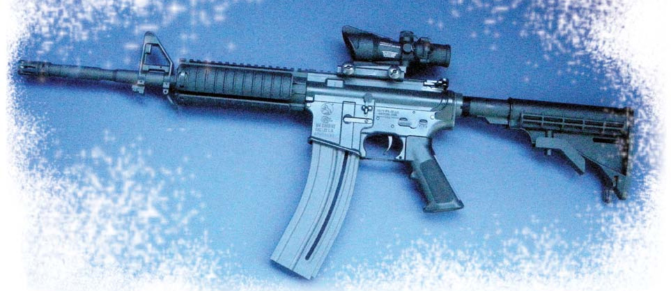 Thompson chose to use Trijicon RCO he uses on his standard M4 carbine.
