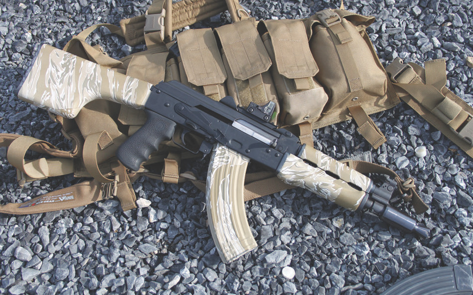 Turning Krebs Yugo AK pistol into an SBR makes it a more practical firearm.