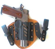 Patriot holster with IWB kit installed.