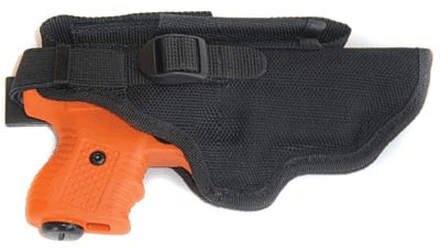 Optional holster is available.