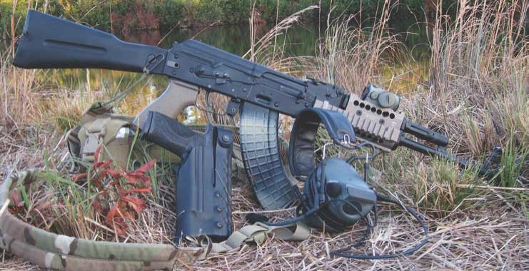 PALMed-out AK is ready for any hard-use carbine task.