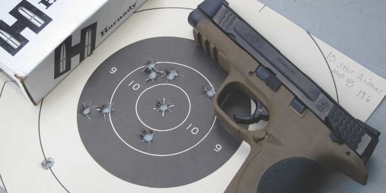 Ten-Shot Assault pushes shooter to blend accuracy and movement/target acquisition under time pressure, giving pretty good gauge of shooter's capability.