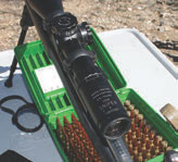 Good quality scope, like this Sniper from Euro Optics 2.5-10X50, is a must for any professional rifle.