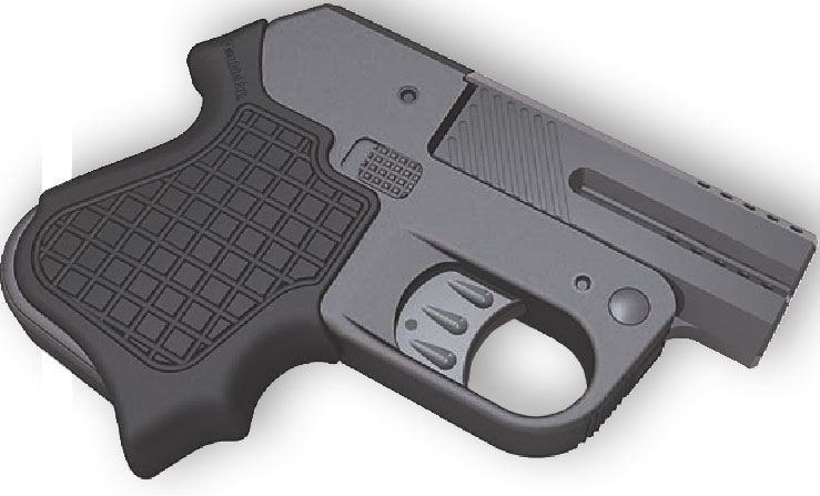 DoubleTap Training Grip may make pistol more comfortable to fire. Photo: DoubleTap Defense