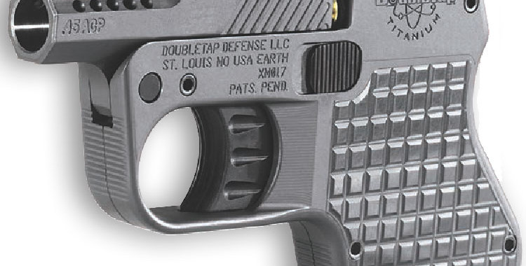 Left side of DoubleTap Tactical Pocket Pistol. Photo: DoubleTap Defense