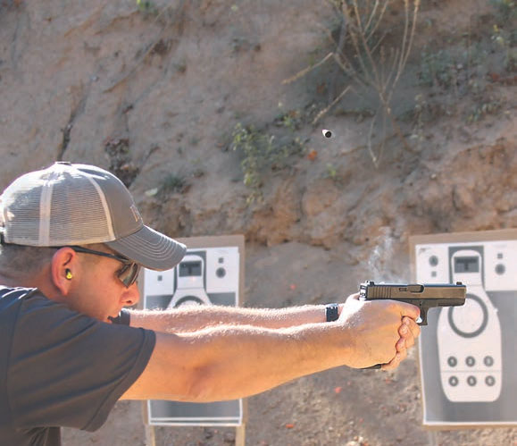 Glock proved its reputation for being extremely controllable at maximum speed, setting the pace. Photo: Todd Green