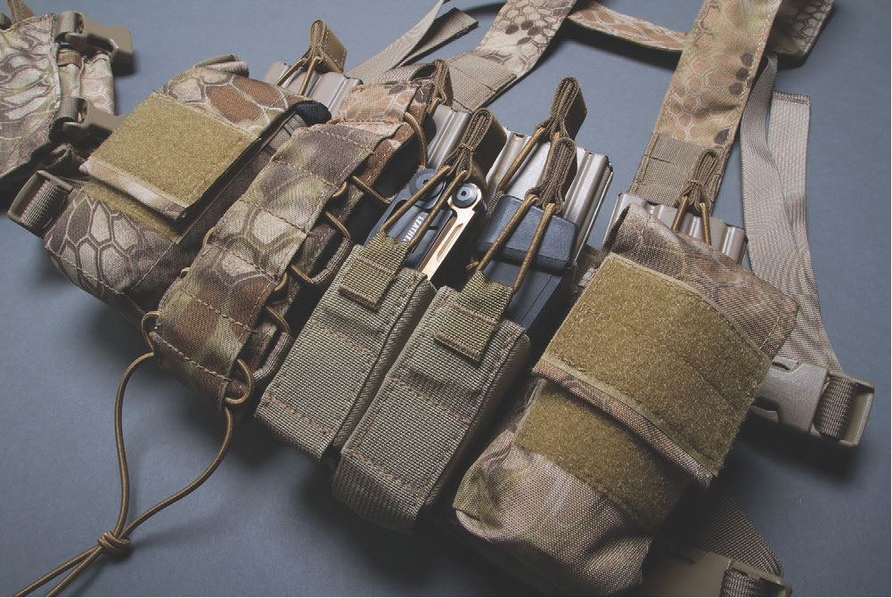 D3CR is an outstanding chest rig—exceptionally comfortable, easily adjustable, and truly multi-mission capable.